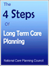 Book: The 4 Steps of Long Term Care Planning