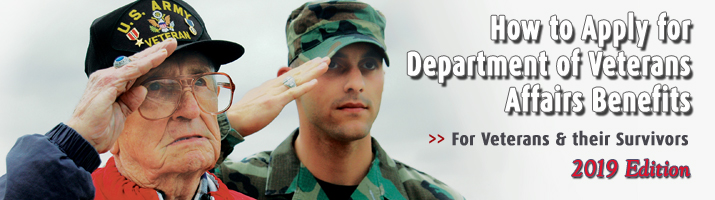 Book: How to Apply for Department of Veterans Affairs Benefits for Veterans and Their Survivors
