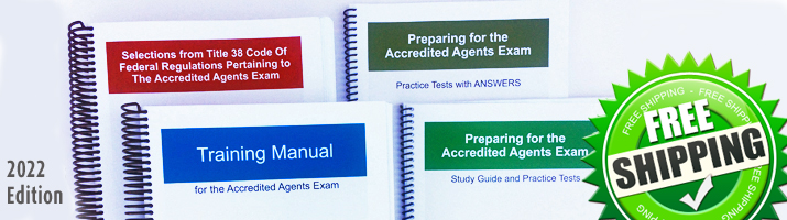 Study Materials for VA Accredited Claims Agent Exam